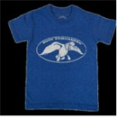 Duck Commander Logo Shirt: Blue | Youth Small