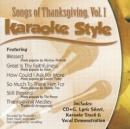 Karaoke Style: Songs of Thanksgiving, Vol. 1 image