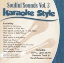 Karaoke Style: Soulful Sounds, Vol. 3