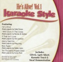 Karaoke Style: He's Alive, Vol. 1 image