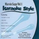 Karaoke Style: Marvin Sapp, Vol. 1