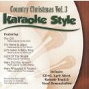 Karaoke Style: Country Christmas, Vol. 3