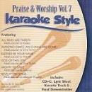 Karaoke Style: Praise & Worship, Vol. 7