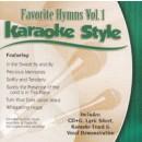 Karaoke Style: Favorite Hymns, Vol. 1