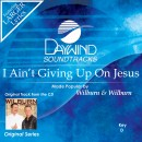 I Ain't Giving Up On Jesus