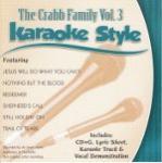 Karaoke Style: Crabb Family, Vol. 3